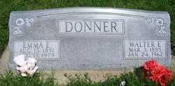Walter E Donner