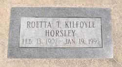 Roetta Violet <I>Thomassen</I> Horsley