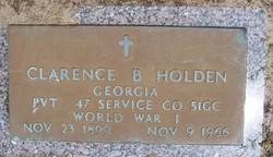 Clarence Bertrand Holden, Sr