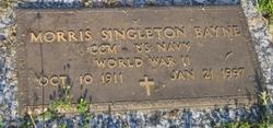 "Morris Singleton ""Bud"" Bayne"