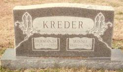 Martha Minnie <I>Hessel</I> Kreder