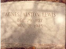 Agnes <I>Alston Ferguson</I> Lewis