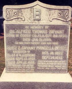 Alice Elizabeth <I>Goggans</I> Bryant