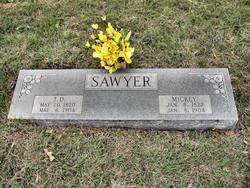"""Mira Adeline """"Mickey"""" <I>Loveless</I> Sawyer"""