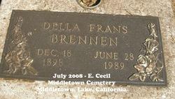 Della <I>Frans</I> Brennen