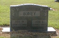 Ada Lucy <I>Taylor</I> Boney