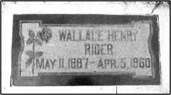 Wallace Henry Rider