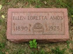 Ellen Loretta <I>Orr</I> Amos