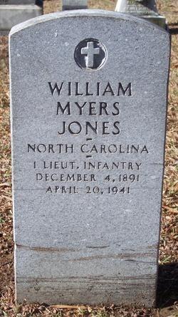 William Myers Jones