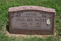 Juliann Winna <I>Vaughters</I> Waters