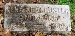 Lena <I>Armbruster</I> Anderson
