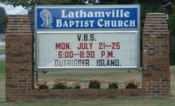 Lathamville Baptist Church Cemetery