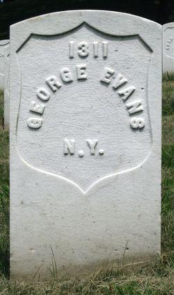 Pvt George Evans