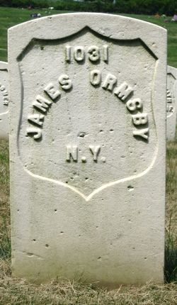 Pvt James Ormsby