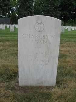 Pvt Charles Wilson Agan