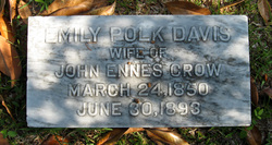 Emily Polk <I>Davis</I> Crow