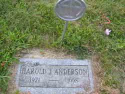 Harold J Anderson