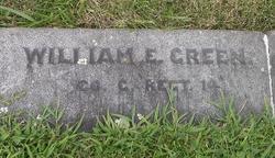 Pvt William E. Green