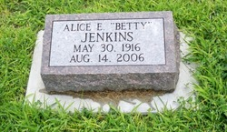 "Alice E. ""Betty"" Jenkins"