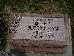 Belle P. <I>Quencas</I> Buckingham