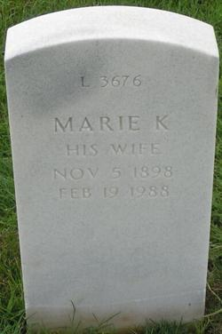 Marie K. <I>Raining</I> Bockius