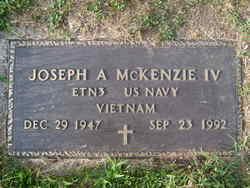 Joseph A McKenzie, IV