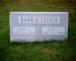 "Mary Josephine ""Mamie"" <I>Johncour</I> Barraclough"