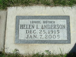 Helen Louise <I>Nelson</I> Anderson