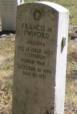 Francis M Twiford