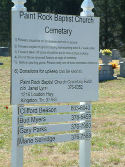 Paint Rock Baptist Church Cemetery