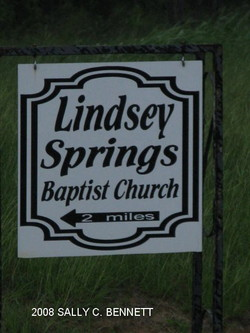 Lindsey Springs Baptist Church Cemetery