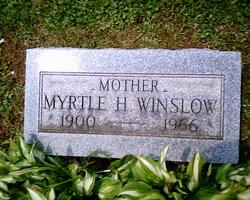 Myrtle Helen <I>LaBelle</I> Winslow