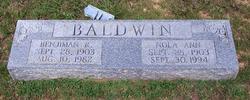 Benjamin Raymond Baldwin