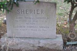Elizabeth <I>Tompkins</I> Sherier