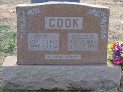 Irvin H Cook