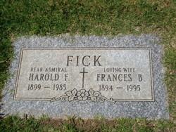 Frances Louise <I>Brent</I> Fick