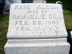 Kate <I>Wilson</I> Gill