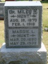 Maggie Lucille <I>Myers</I> Hunt
