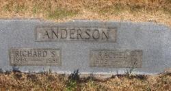Rachel Rebecca <I>Peterson</I> Anderson