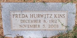 Freda <I>Hurwitz</I> Kins