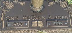 Onis <I>McGann</I> Alford