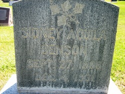 Sidney Aquila Benson