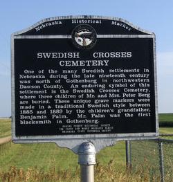 Swedish Crosses Cemetery