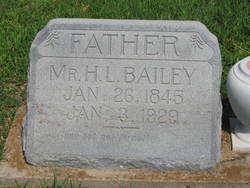 Hugh L Bailey