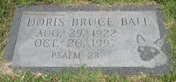 Doris <I>Bruce</I> Ball