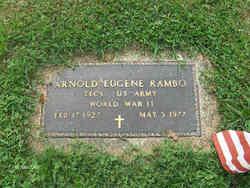 Arnold Eugene Rambo
