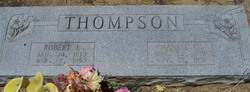 """Nancy Ophelia """"Nannie O"""" <I>Seale</I> Thompson"""