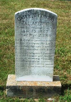 Maj Catlett Conway Taliaferro