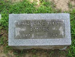 Catharine <I>Yost</I> Barnes