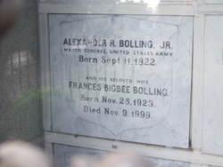 Frances <I>Bigbee</I> Bolling